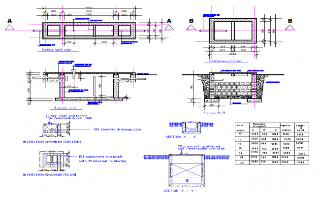 Septic Tank Structure Design