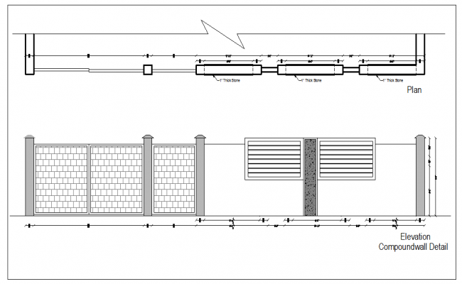 gate and compound wall design description gate and compound wall ...