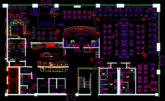 Restaurant Kitchen Plan Dwg simple restaurant kitchen plan dwg cad drawingskeywordsinterior