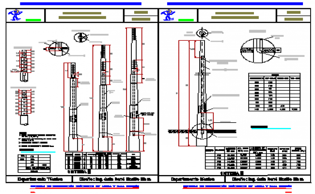 Concrete Pole Design : Reinforced concrete high voltage transmission poles design
