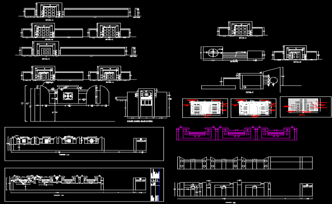Compound Wall Design Autocad : Design of compound wall