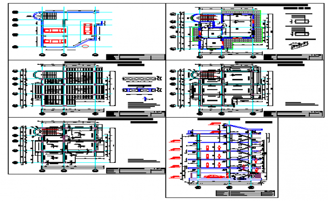and apartment building design drawing